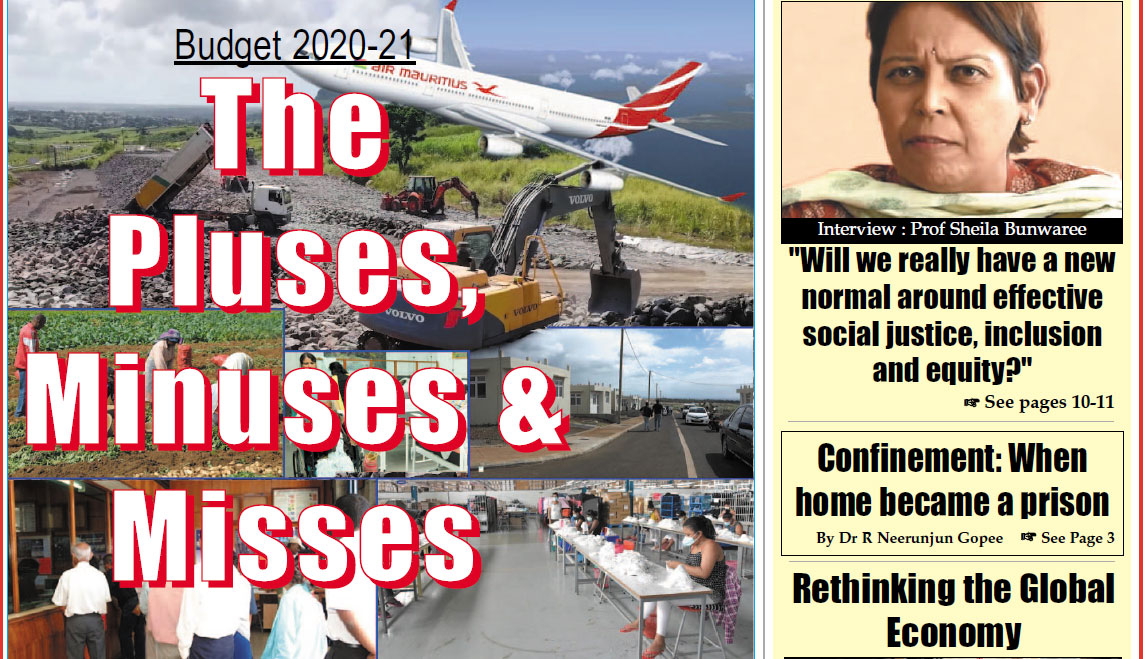 Mauritius Times ePaper – Friday 5 June 2020