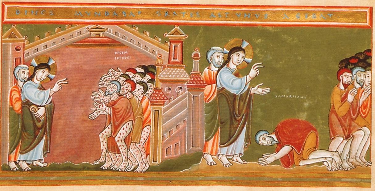 https://upload.wikimedia.org/wikipedia/commons/b/b6/CodexAureus_Cleansing_of_the_ten_lepers.jpg
