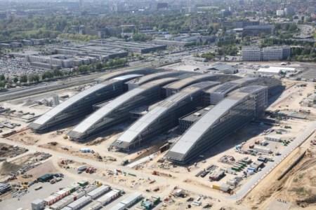 La nuoa sede NATO a Bruxelles: atigli che si uniscono.