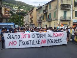 No Borders a Ventimiglia