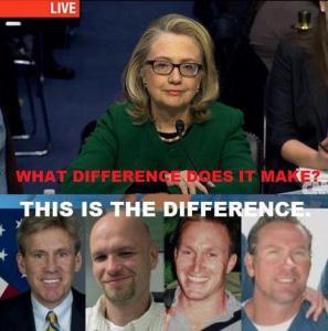 Sotto, i morti di Bengasi