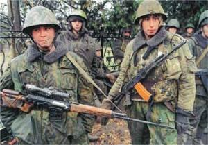 Sniper russi col loro SVD