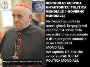 bergoglio one world