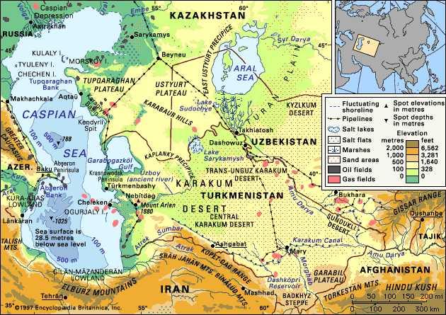 La zona d 'operazione fuura che gli americani hanopensato per Daesh?