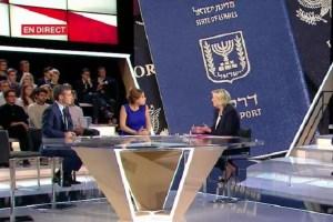 """La Le Pen """"vuol negare il passaporto israeliano  agli ebrei francesi"""".  Rabbia di  Giuliano Ferrara."""