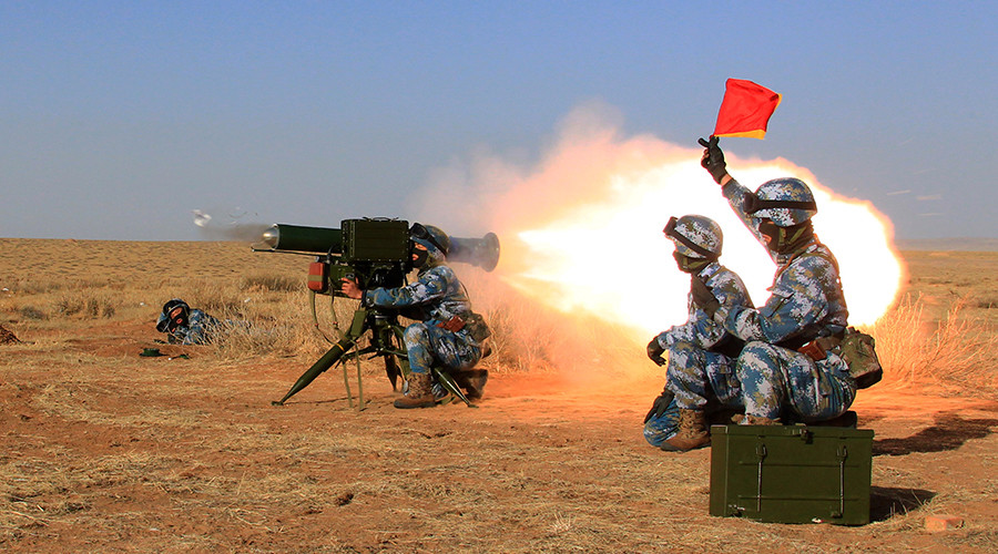 Esercitazioni cinesi a Gibuti.