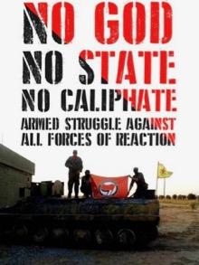 """""""Nè dio, né stato né califfato"""" (un manifesto di propaganda)"""