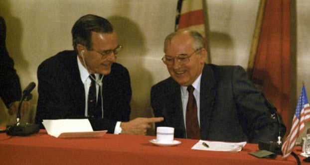Bush assicurò Gorby: ma non per iscritto….