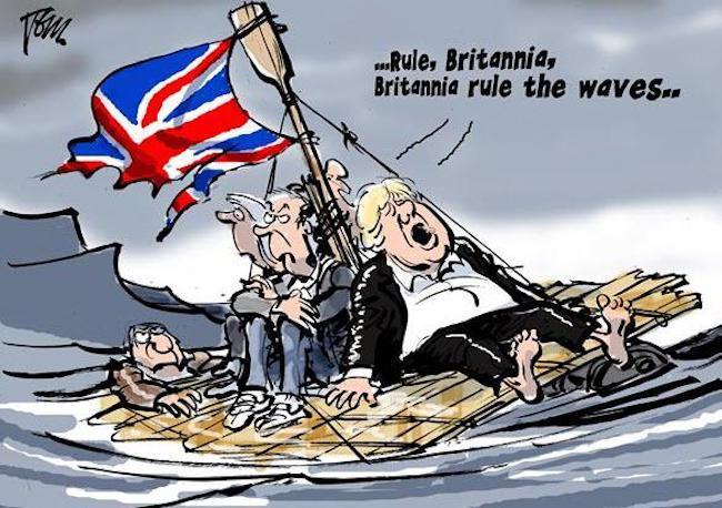 (capo di Stato maggiore della Difesa della Gran Bretagna, generale Nick Carter: Mosca è una minaccia lampante ed imminente).