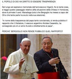 Papa Muto Primo. E la sua corte  parlante.