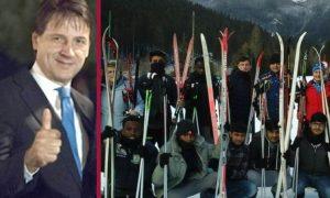 Il governo blocca i fondi per  i rimpatri e li usa per tenere corsi di sci ai migranti