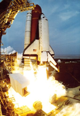 Space Shuttle Columbia lancio