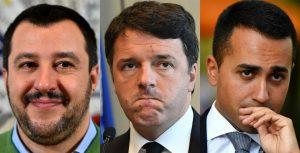 Renzi, Salvini e Di Maio: leader ambigui, producono politiche confuse e opache aiutando solo l'antipolitica…