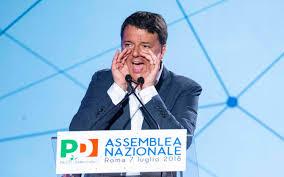 Pd: un Renzi sempre più adirato e minaccioso, se la prende con tutti e alza un muro lasciando il partito senza parole e visione…