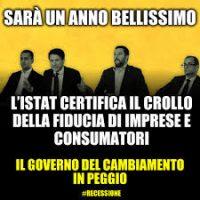 Governo: dall'anno bellissimo di Conte al mitra di Salvini… che già sente che sta finendo la sua era…