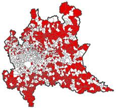 707 comuni Lombardia in digital divide