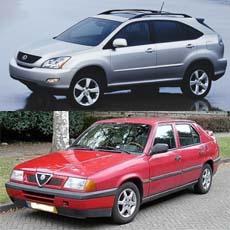Suv Lexus e Alfa 33