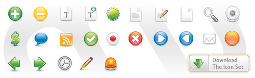 Freebies Icons - Monofactor.com - Design Graphics Blog - Onur Oztaskiran -+ Blog Archive -+ Free Vector Icon Set 1 - Containing 25 Icons