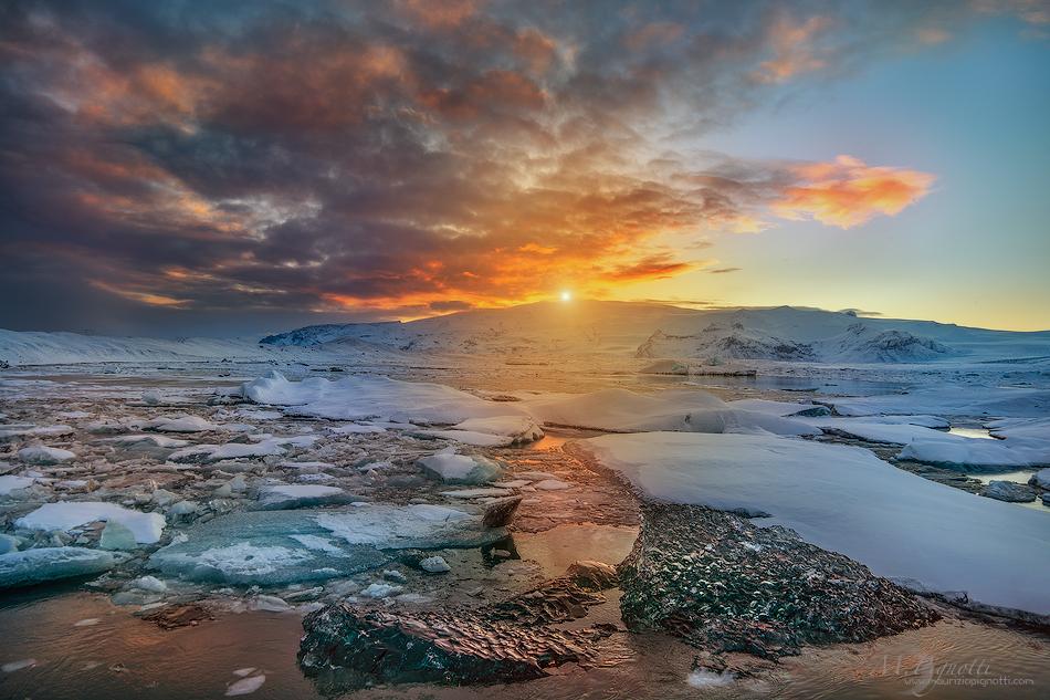 ©-jokulsarlon-sunset