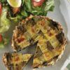 Torta del Giorno com salada Restaurante Totò Chef: Luiza Fitipaldi Bistolfi