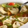 Sopa de Capeletti Restaurante MoDi Chef Diogo Silveira