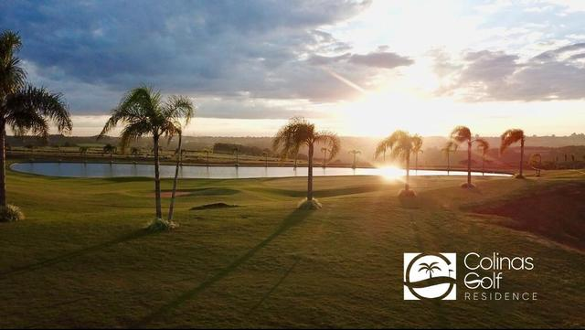 Vista do por do sol no Colinas Golf Residence em Cascavel