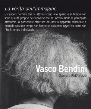 """Manifesto Vasco Bendini, mostra """"Opere 1950/2006"""""""