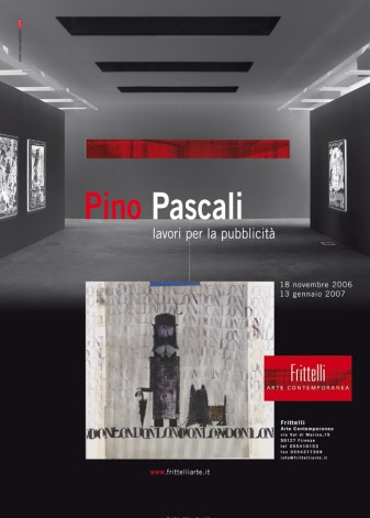 Pagina pubblicitaria Pino Pascali 2007