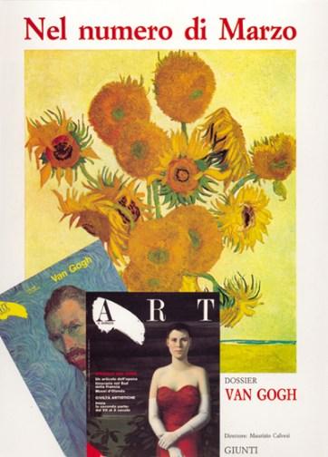 Pagina pubblicitaria Rivista Art e Dossier