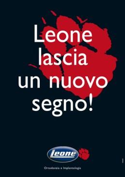 Pagina pubblicitaria campagna Leone Segno