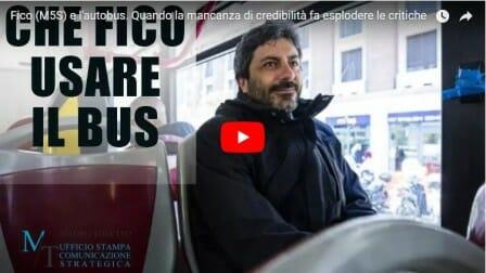 Fico (M5S) e l'autobus. Quando la mancanza di credibilità fa esplodere le critiche