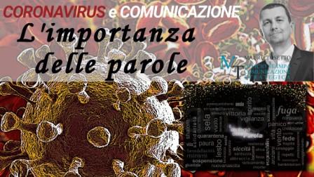 L'importanza delle parole al tempo del Coronavirus