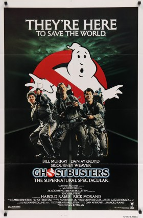 Image result for ghostbusters original movie poster