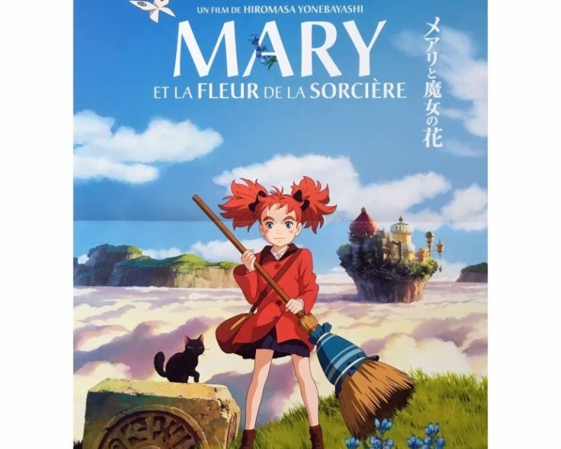 MARY AND THE WITCH'S FLOWER Movie Poster 15x21 in.