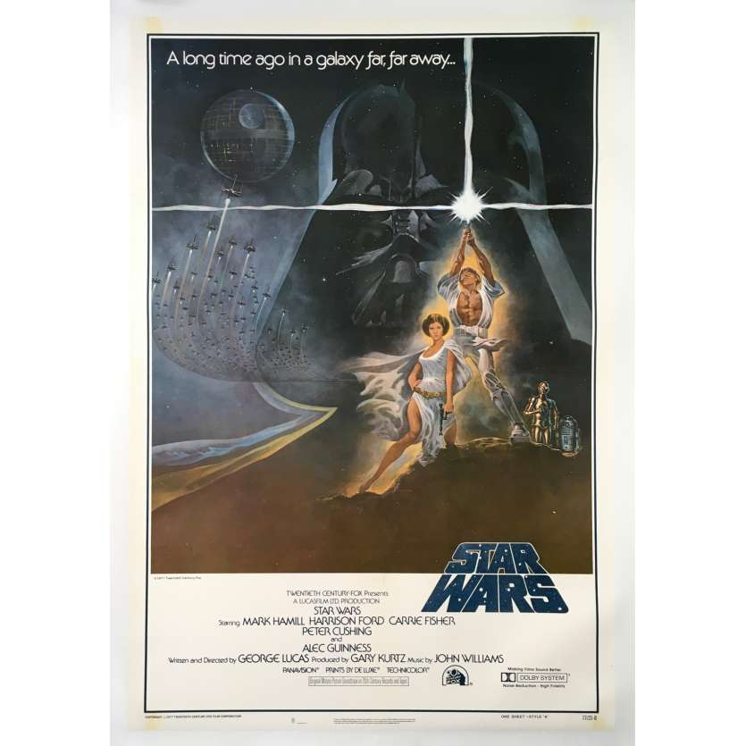 a new hope movie poster 27x41 in