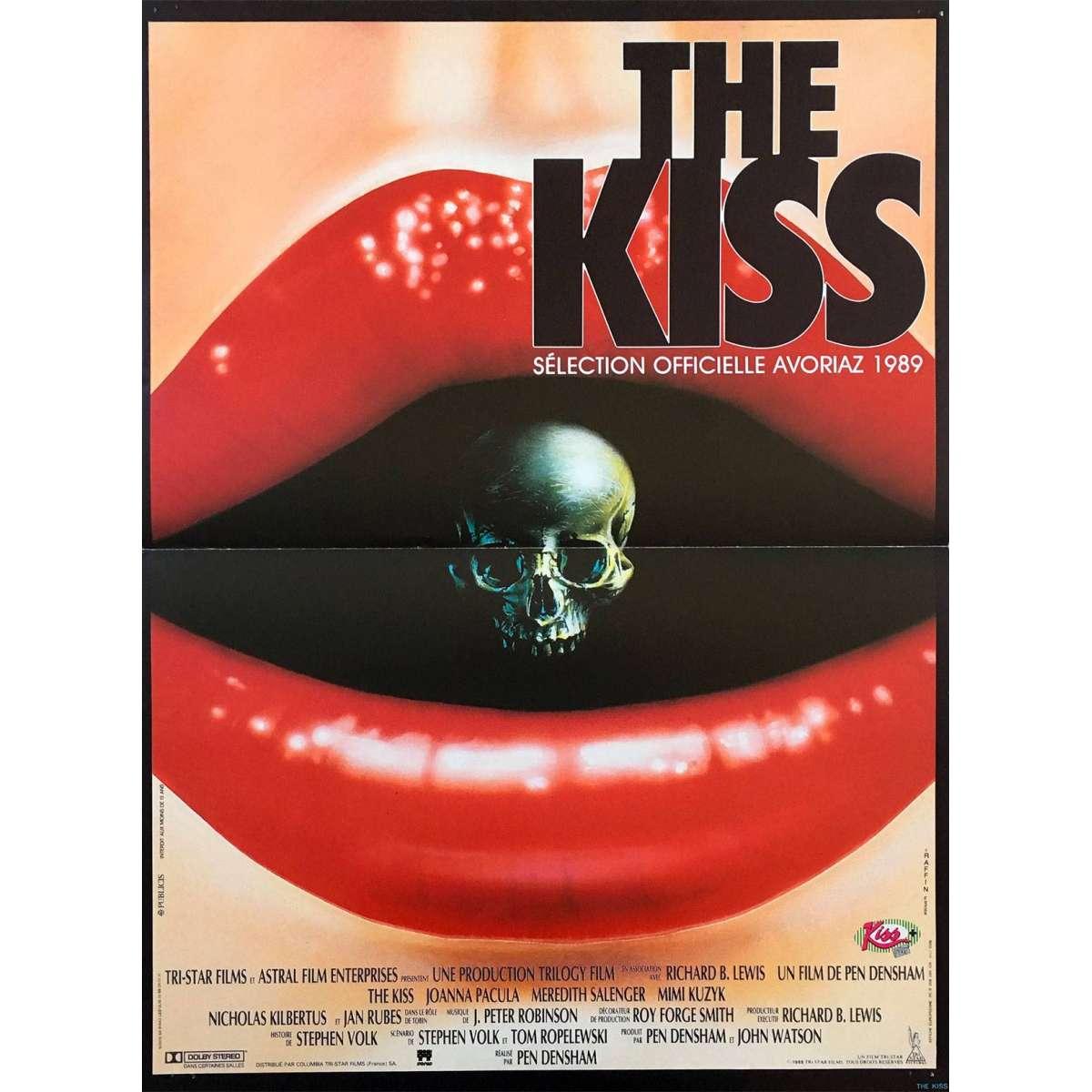 the kiss movie poster 15x21 in 1988 pen densham joanna pacula
