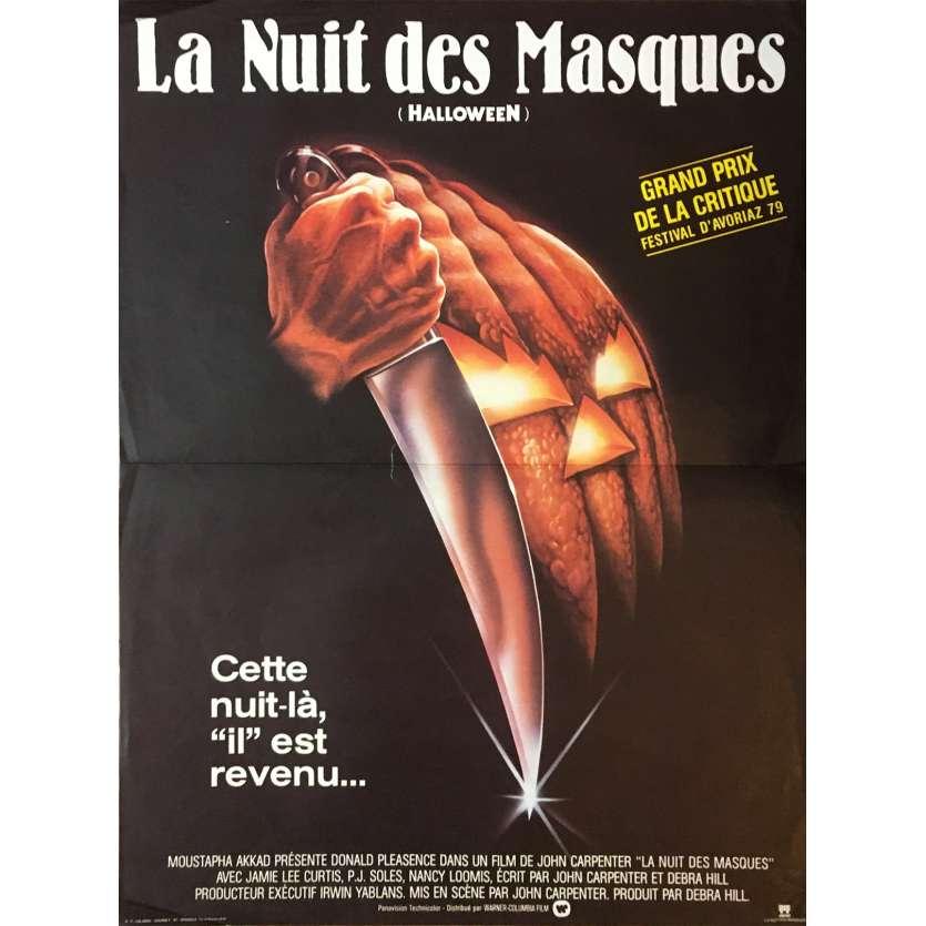 halloween original movie poster 15x21 in 1978 john carpenter jamie lee curtis