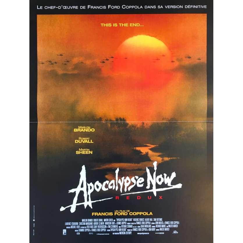 apocalypse now redux original movie poster 15x21 in 2001 francis ford coppola marlon brando