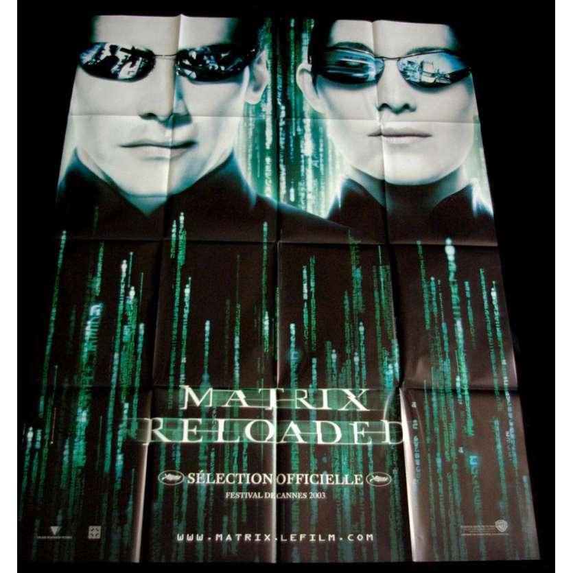matrix reloaded movie poster 2003 keanu reeves wachowski brothers