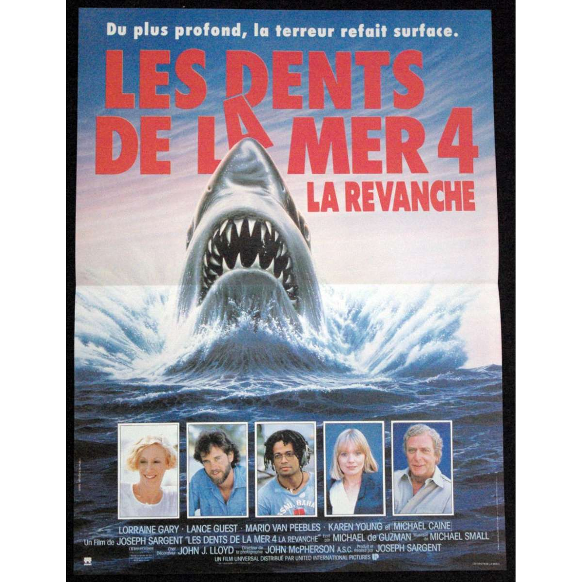 jaws 4 french movie poster 87 15x23 horror