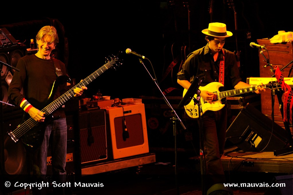 Jackie Greene and Phil Lesh on New Year's Eve 2008