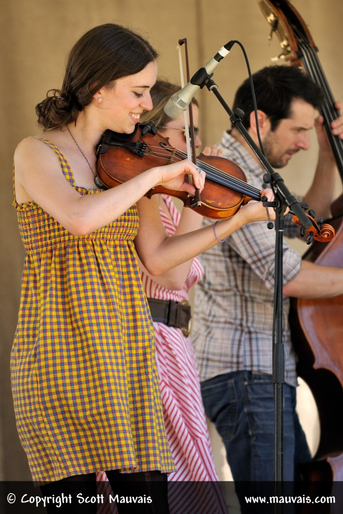 Brittany Haas  at Bluegrass for the Greenbelt