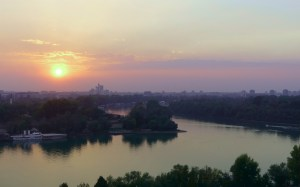 Where the Sava meets the Danube