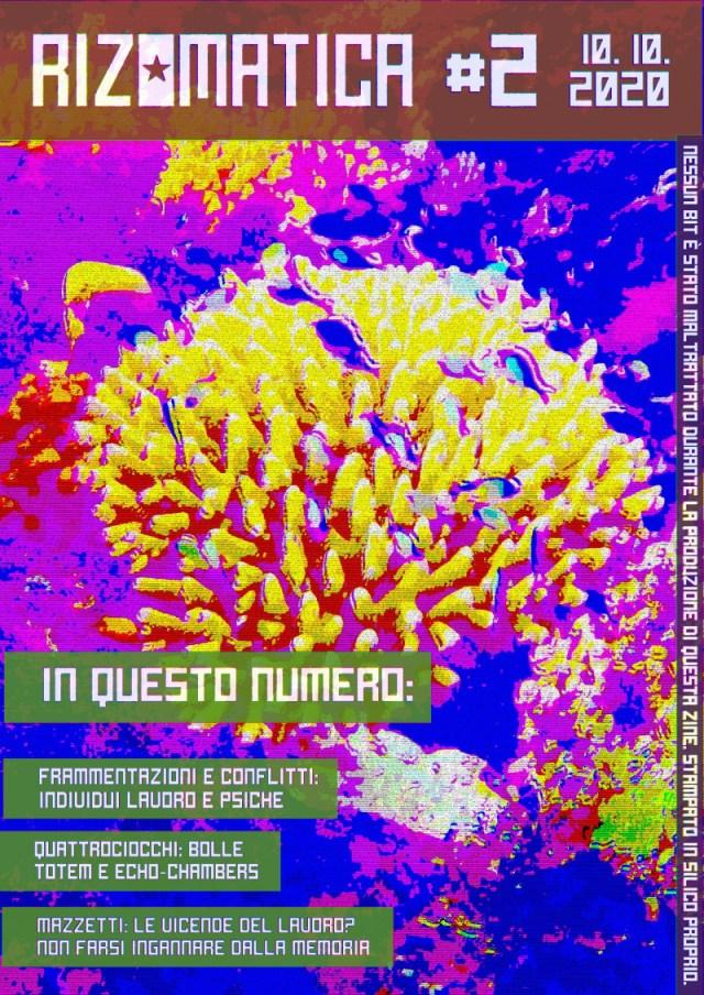copertina di Rizomatica numero 2