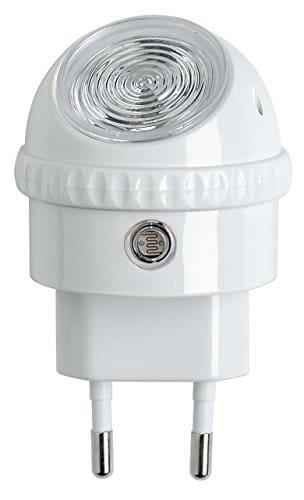 OSRAM – Veilleuse Secteur LED Lunetta – 220-240V – Capteur de luminosité – Orientable à 360° – 52lm