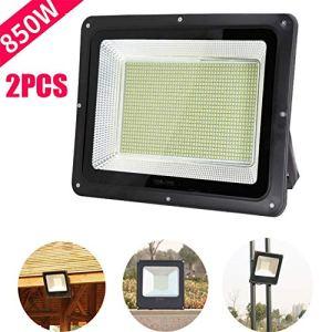 Lumière D'Inondation, Super Brillant Projecteur LED Imperméable Anti Déflagrant Puce Intelligente Résistance A Haute Température Floodlight (Size : 850W)