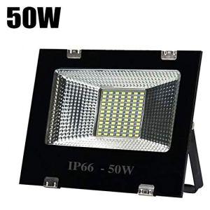 Projecteur LED, Super Brillant Dissipation Rapide La Chaleur Floodlight Imperméable Antirouille Économie D'énergie Plein Air Lumière D'Inondation (Size : 50W)