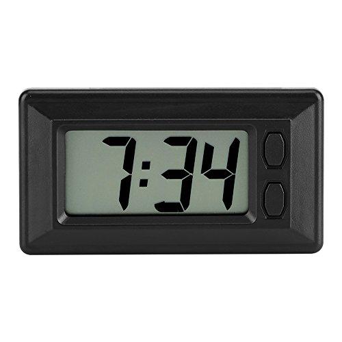 Garosa Réveils numériques électroniques à LED Grand Chiffres avec Affichage du Calendrier Date/Heure pour Voyage déplacements du Bureau de la Chambre