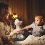 Machine à bruit blanc pour bébé, tétine de sommeil rechargeable, veilleuse et projecteur en forme de mouton en peluche, avec 18 sons apaisants, cadeau pour nouveau-né, unisexe