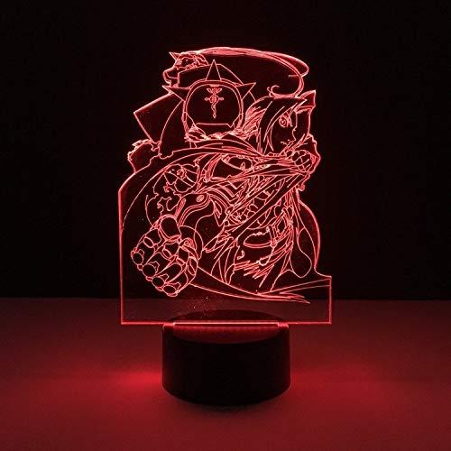 Anime personnage chasseur LED veilleuse 3D lampe de table décoration multicolore dortoir chambre cadeau